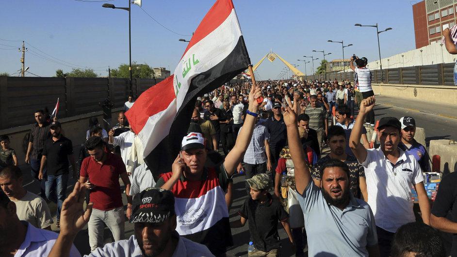 Protesty v Iráku