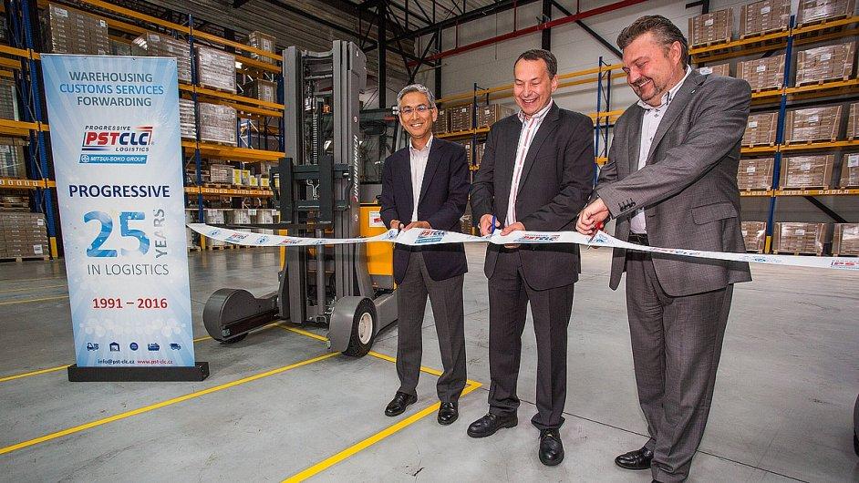 PST CLC a Philip Morris otevřely v Kutné Hoře nové logistické centrum