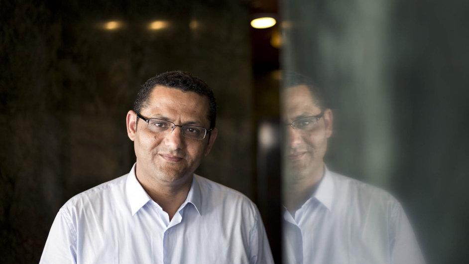 Místopředseda egyptského Syndikátu novinářů Chálid Balší.