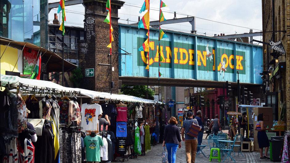 Tým tvůrců se inspiroval populárním Londýnským tržištěm v Camden Townu.
