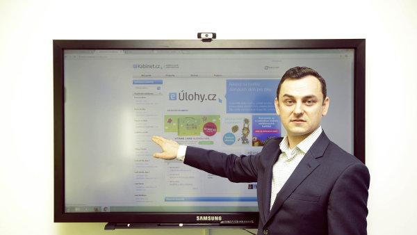 Investoval do ní Martin Roman. Společnost Edulogy patří k předním tvůrcům digitálního vzdělávacího obsahu, říká její jednatel Richard Valenta.