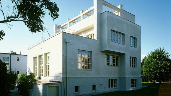 Winternitzova vila archiv budovy