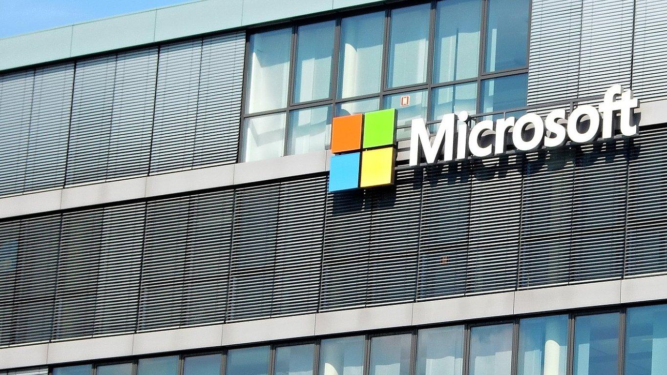 Microsoft. Ilustrační foto