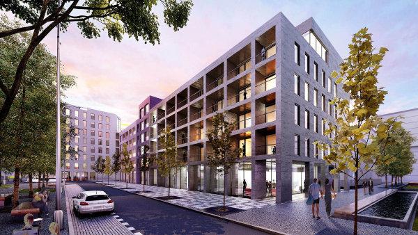 Developerská společnost Central Group plánuje, že načásti pozemků bývalého nákladového nádraží naŽižkově vyroste až 2,5 tisíce bytů, komerční zázemí iparky vrámci projektu Parková čtvrť.