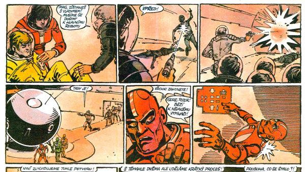 Autory komiksu jsou Václav Šorel (scénář) a František Kobík (kresba).