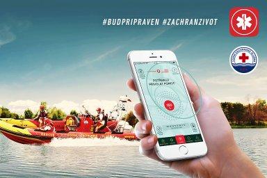 Aplikace Záchranka a Vodní záchranná služba ČČK spojily své síly
