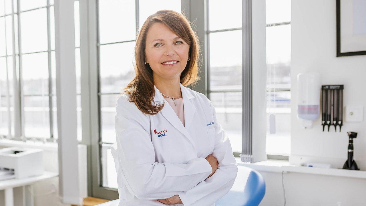 Barbara Taušová, vedoucí lékařka ajednatelka Canadian Medical
