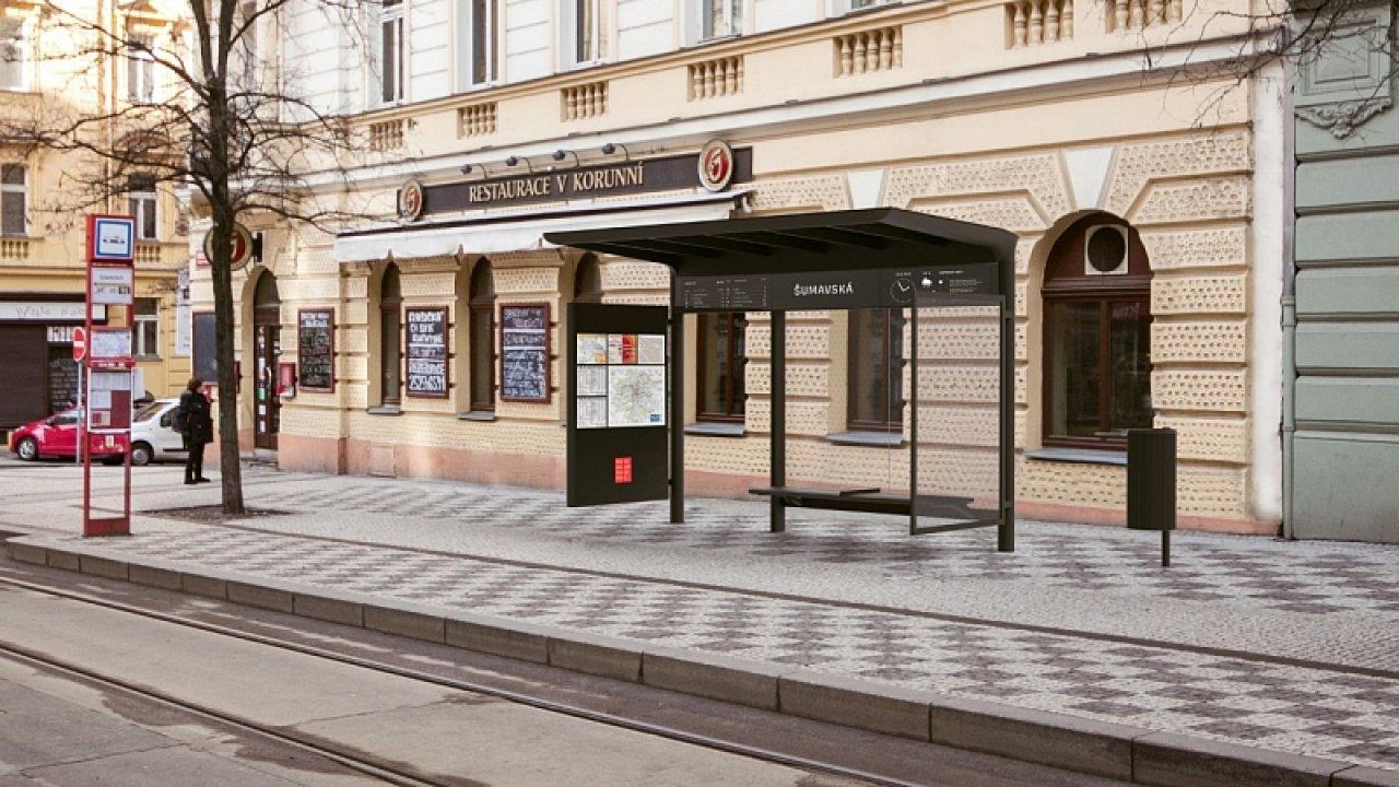 1. místo zastávka Praha