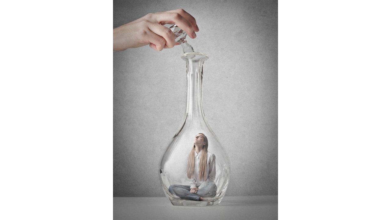 Dívka v lahvi