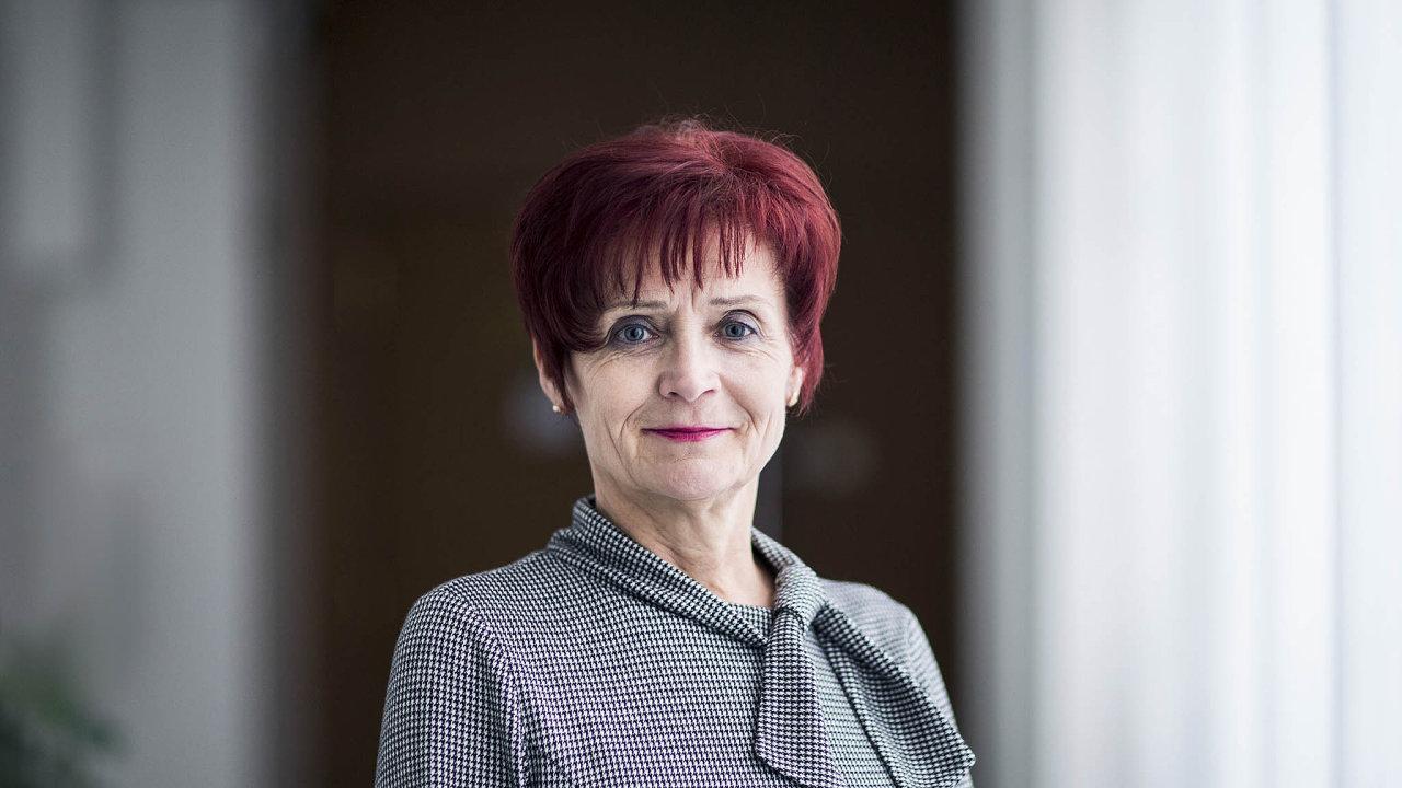 Generální ředitelka Generálního finančního ředitelství Tatjana Richterová