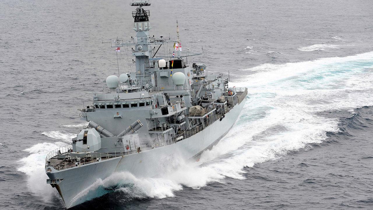 HMS Montrose britské námořnictvo