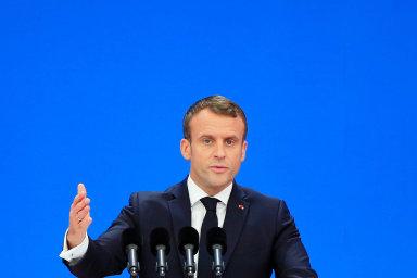Emmanuel Macron: Pohostinství astavebnictví bez imigrace nefungují. Předstírat opak by bylo nesprávné, tvrdí francouzský prezident.