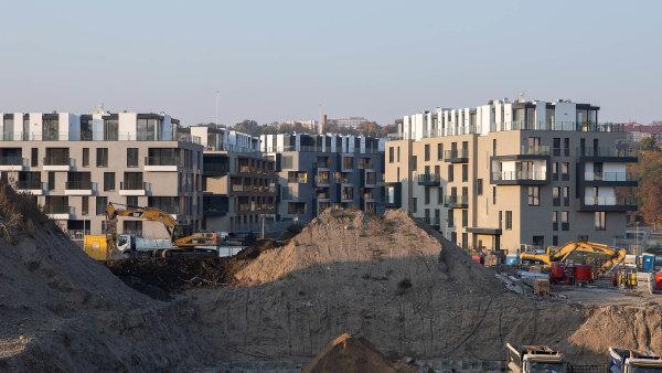 Nové byty zdražily od roku 2015 o 90 procent, uvádí Deloitte. Tempo růstu je ale nejnižší za dva roky