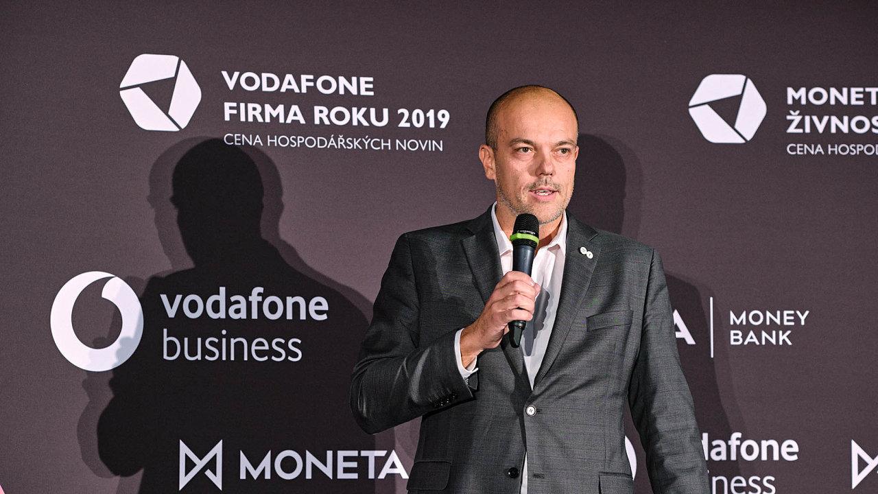 Předseda představenstva společnosti mmcité 1 Aleš Bakoš.