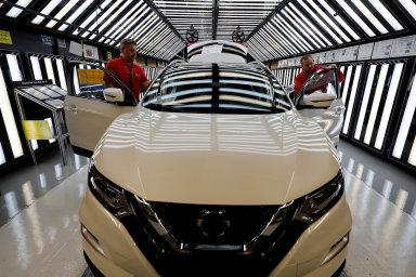 Produkce závodu Nissanu v Sunderlandu je postavená hlavně na SUV Qashqai.