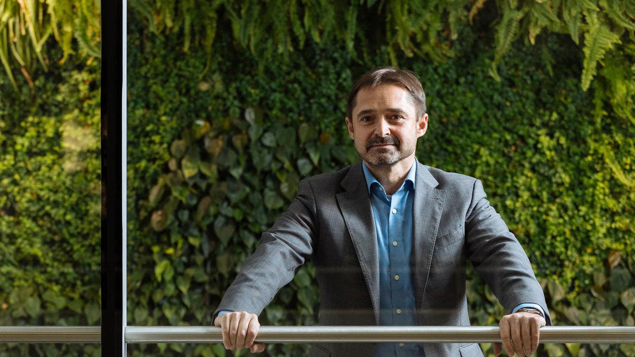 Šéf restrukturalizací zPwC Petr Smutný.
