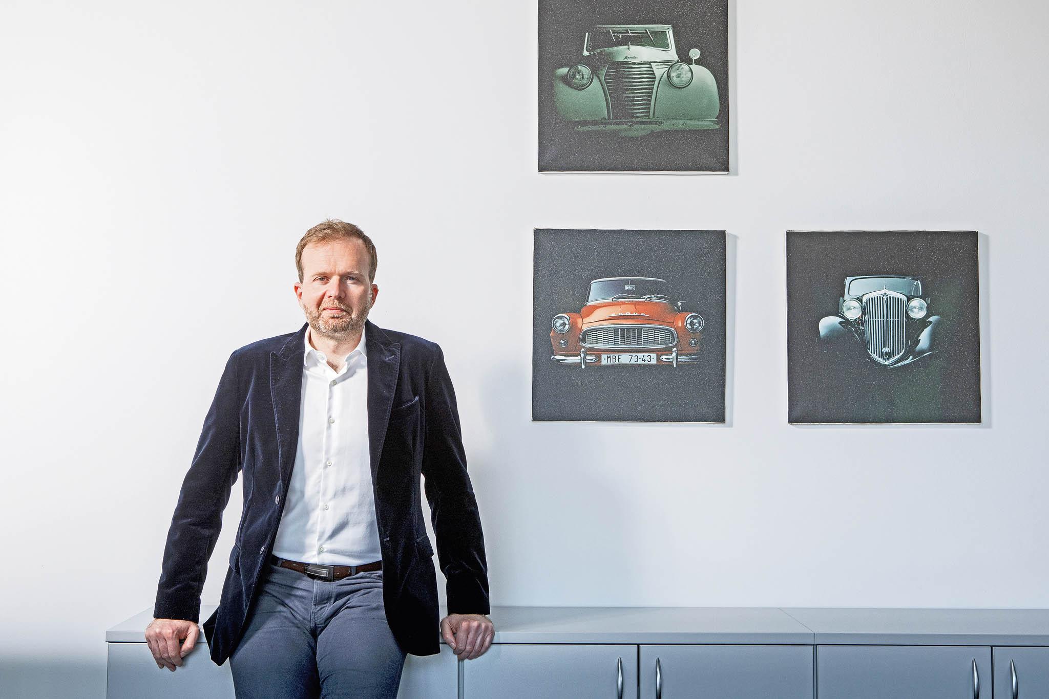 Výkonný ředitel Sdružení automobilového průmyslu Zdeněk Petzl