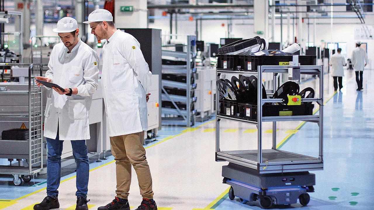 Visteon optimalizoval logistiku s autonomními mobilními roboty, investice se výrobci vrátí do jednoho roku.