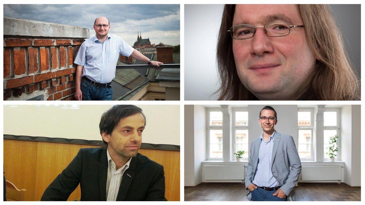 Think tank HN: Lubomír Kopeček, Josef Mlejnek jr., Přemysl Rosůlek, Stanislav Balík