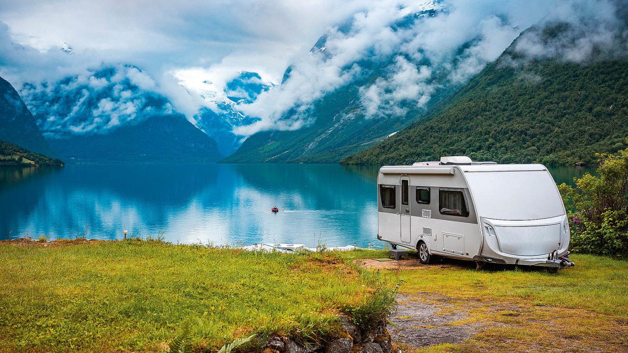 Český start-up Campiri sází na rostoucí zájem o cestování s obytnými vozy a karavany.