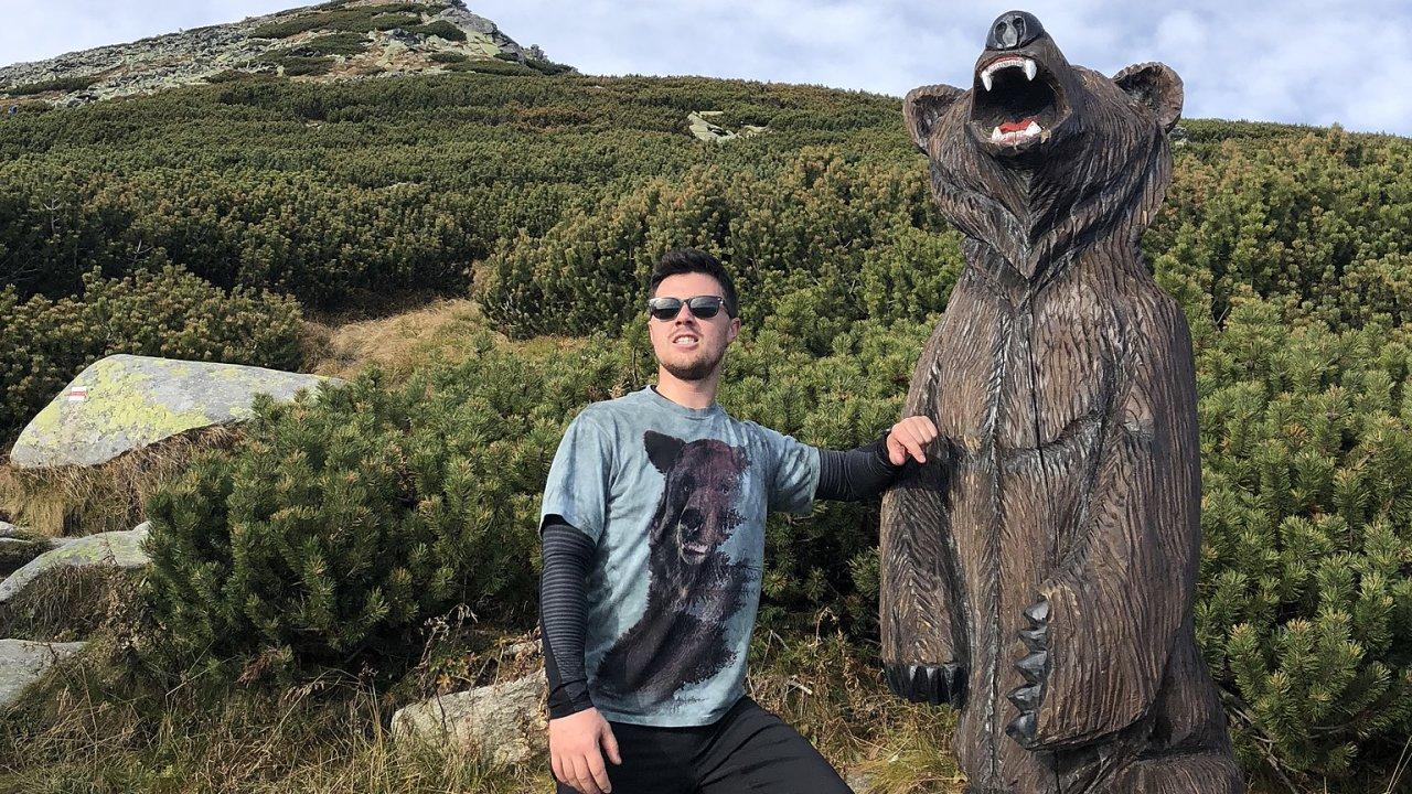 Dominik Píchal, majitel eshopu Grizly.cz