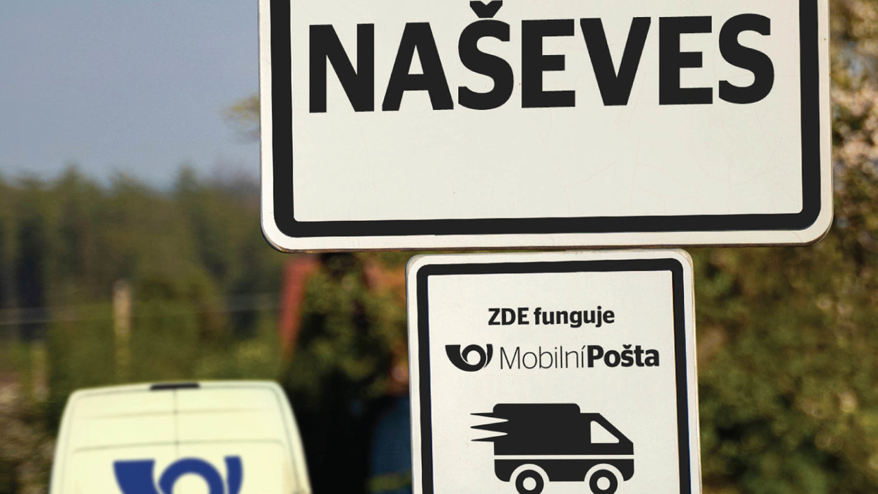 Mobilní pošta zajišťuje větší bezpečnost lidí, kteří si mohou poštovní službu vyřídit u sebe v obci a nemusí kvůli ní cestovat do obce s pobočkou České pošty.