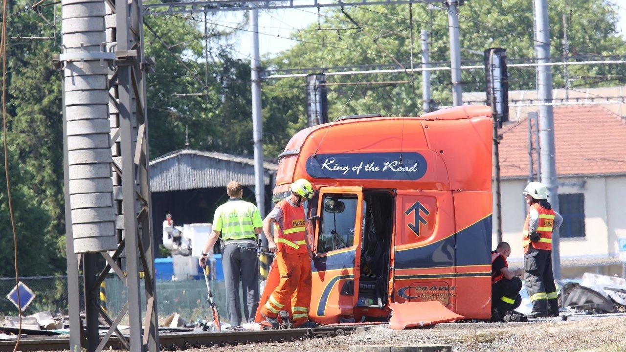 Vlak, Studénka, nehoda