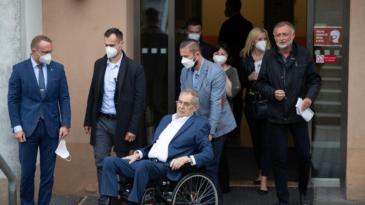 Miloš Zeman, nemocnice, nemoc
