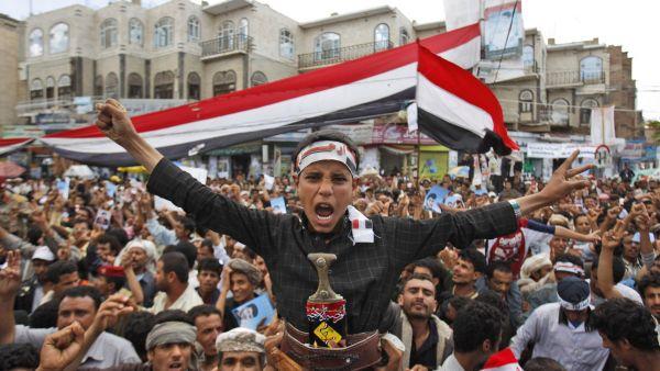 protivládní nepokoje v Jemenu