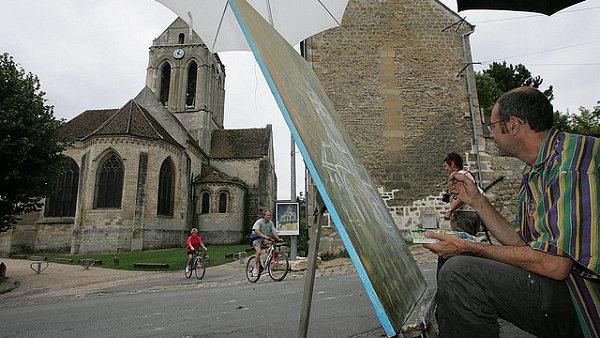 Do francouzského Auvers-sur-Oise dodnes putují malíři a obdivovatelé Vincenta van Gogha