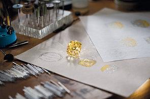 Tiffany Diamond: Unikátní žlutý diamant veliký jako kaštan by se dnes při těžbě zničil