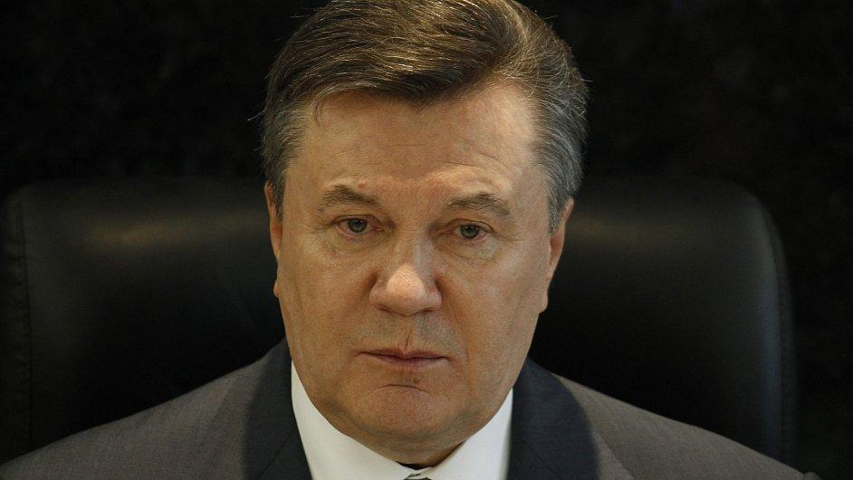 Ukrajinský prezident Viktor Janukovyč