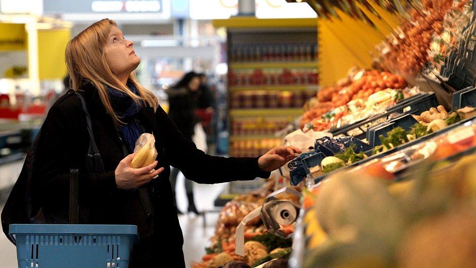 Od začátku roku nejvíce zdražují potraviny