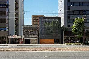 Luxfery po japonsku. Dům v centru Hirošimy má soukromí díky závoji ze skla