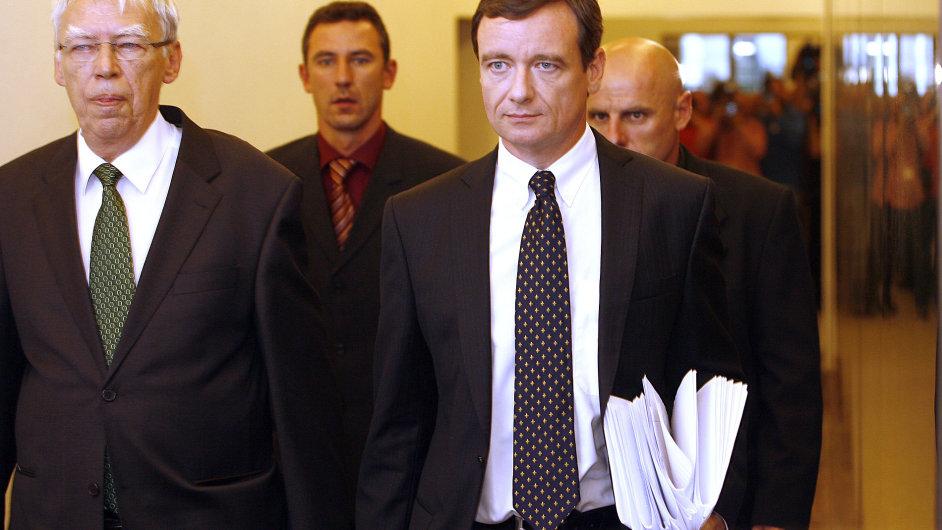 David Rath před jednáním mandátového a imunitního výboru