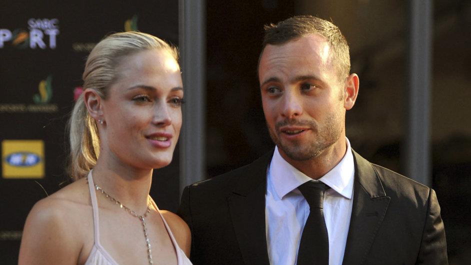 Oscar Pistorius s přítelkyní Reevou Steenkampovou