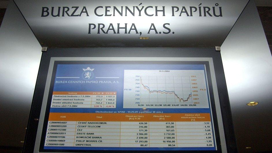 Nejvyšší vedení firem kotovaných na pražské burze loni vydělala o desetinu více než v předchozím roce - Ilustrační foto.