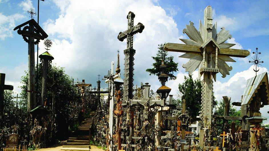 Slavná Hora křížů nedaleko města Šiauliai, symbol odporu proti komunismu