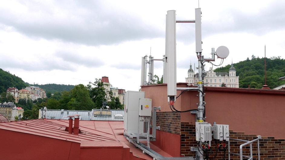 Vysílač LTE v Karlových Varech