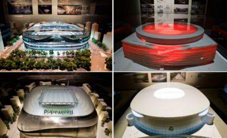 Varianty modernizovaného stadionu Santiago Bernabéu