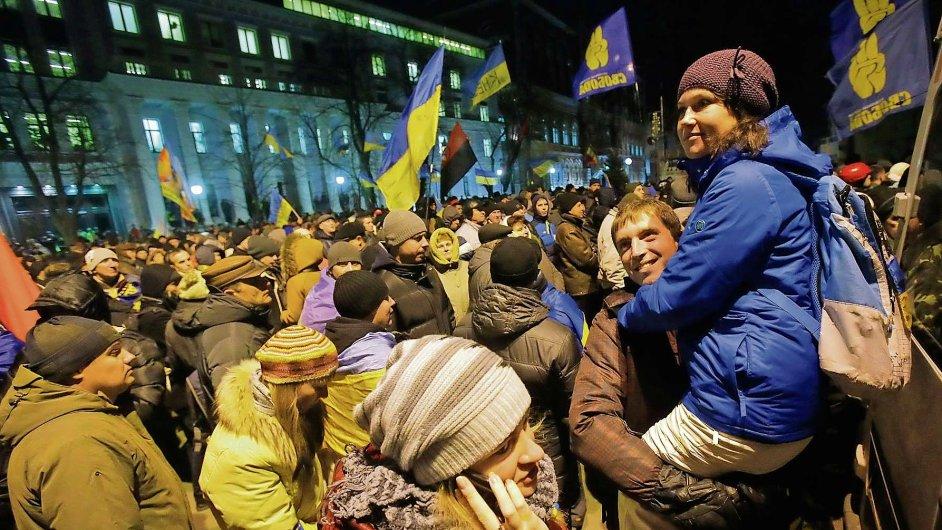 Ukrajinské protesty