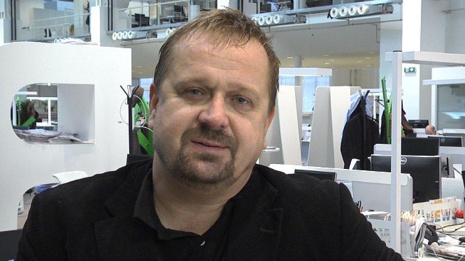 Petr Fischer, komentátor HN
