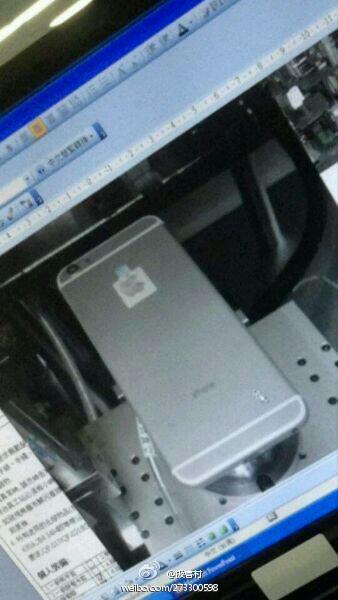 Údajný prototyp iPhonu 6