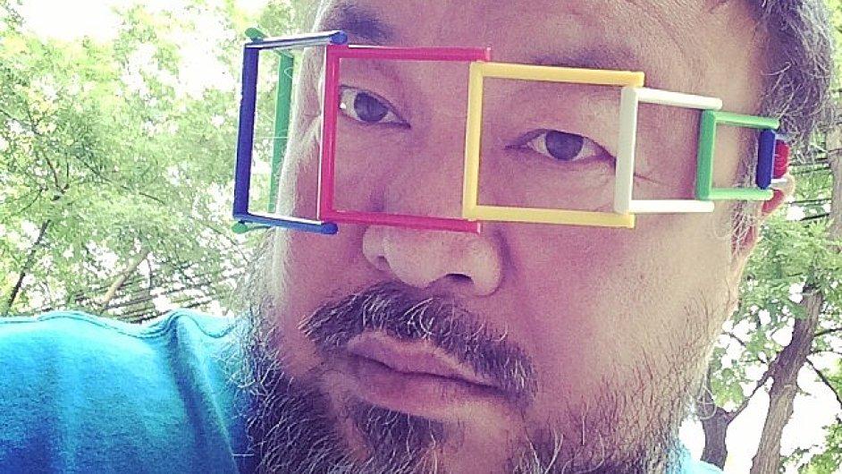 Zhruba dva týdny starý autoportrét Aj Wej-weje.