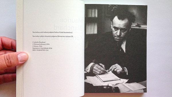 Výbor z básnického díla představuje první překlad Blancharda do češtiny.