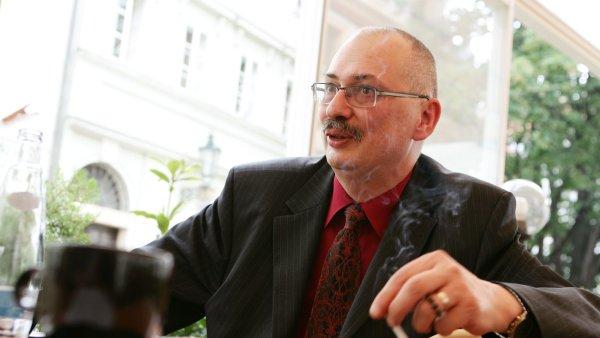 Právník Karel Eliáš, hlavní autor původní verze občanského kodexu.