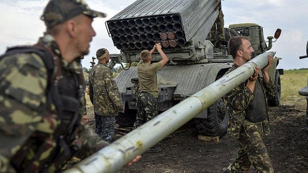 Nasazení raket Grad na Ukrajině