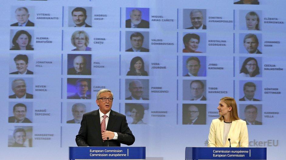 Jean-Claud Junckere a schvalování nových eurokomisařů.