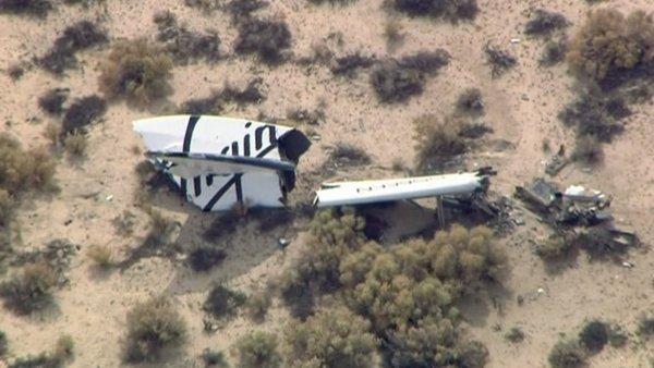 Vesm�rn� lo� spole�nosti Virgin Galactic havarovala, pilot zahynul