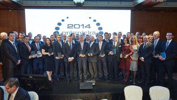 Ocen�n� na Pr�vnick� firm� roku 2014